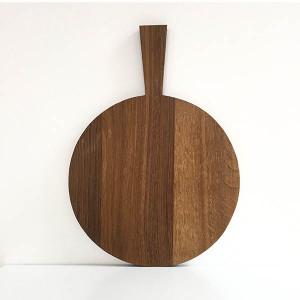 Planche à découper Raumgestalt Ronde Diam 34cm bois foncé