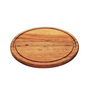 Planche à découper en bois de Muiracatiara Tramontina Ronde DIam 23