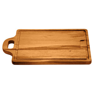Planche à découper avec poignée en bois de Muiracatiara Tramontina 50x32x2.2
