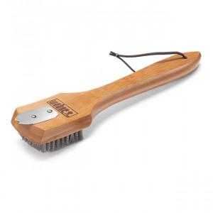 Brosse de nettoyage Weber 30 cm poignée bambou