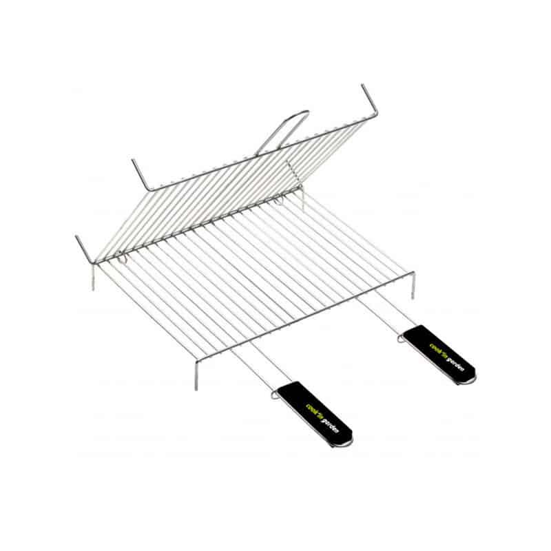 Grille pour barbecue en acier chromé 40 x 60 cm Outils et