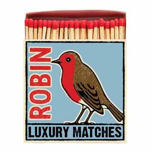 Allumettes Archivist Deluxe Robin 11 cm