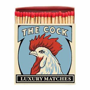 Allumettes Archivist Deluxe The Cock 11 cm