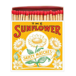 Allumettes Archivist Deluxe The Sunflower 11 cm