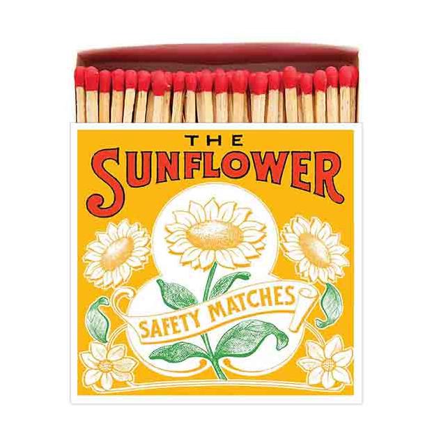 Allumettes Archivist Deluxe The Sunflower 11 cm
