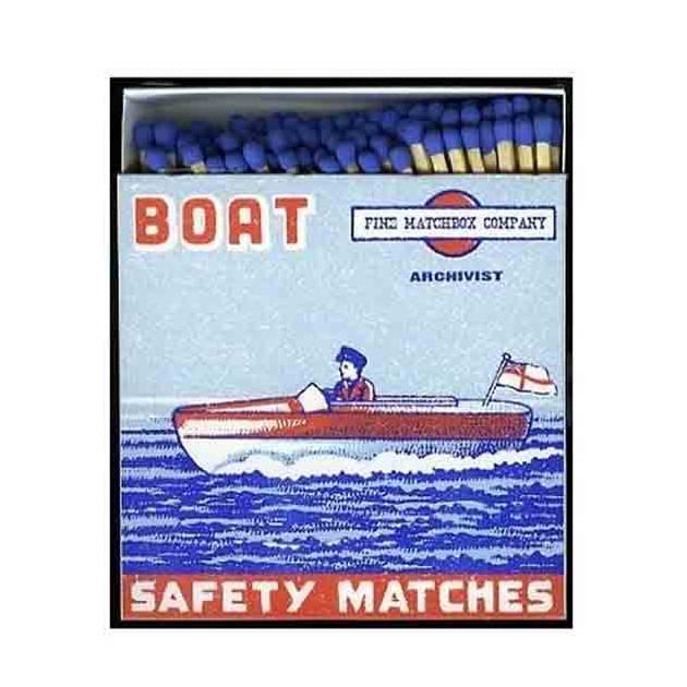 Allumettes Deluxe boat