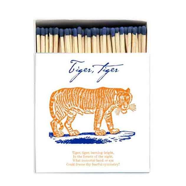 Allumettes Archivist deluxe tiger tiger