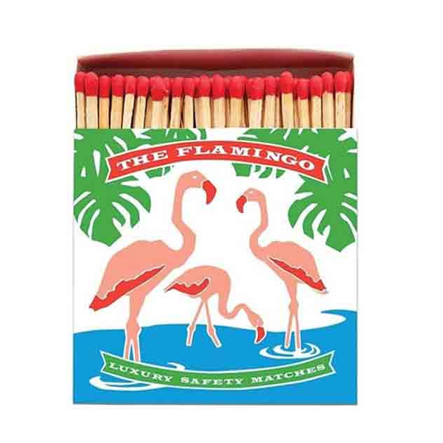 Allumettes deluxe flamingo