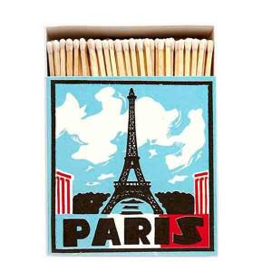 Allumettes Archivist Deluxe Paris 11 cm