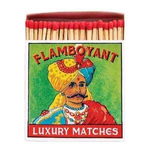 Allumettes Archivist Deluxe Flamboyant 11 cm