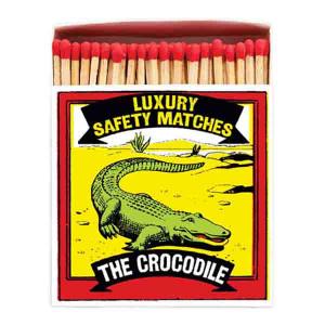 Allumettes Archivist Deluxe Crocodile 11 cm