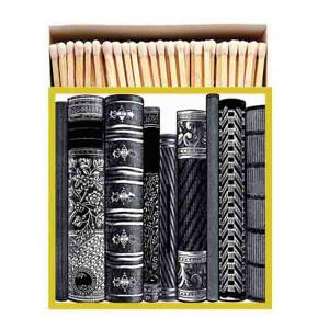 Allumettes Archivist Deluxe Books 11 cm