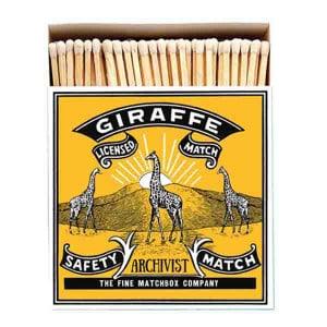 Allumettes Archivist Deluxe Giraffe 11 cm