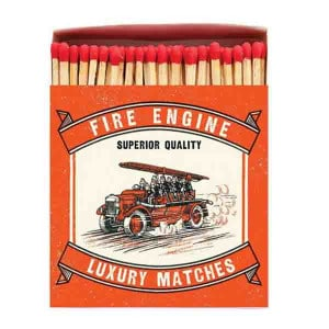 Allumettes Archivist Deluxe Fire Engine 11 cm