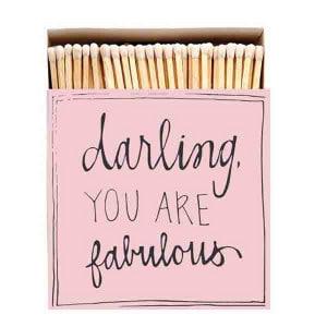 Allumettes Archivist Deluxe Darling Fabulous 11 cm