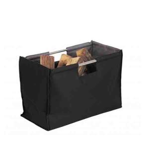 Sac à bois Folio pliable noir