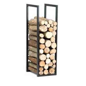 Range bois 100 x 32 x 40 cm gris