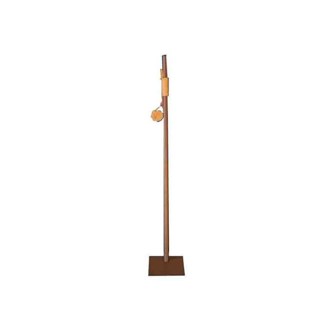 Bouffadou Buffadou Tradition cortene/cuir marron 80 cm