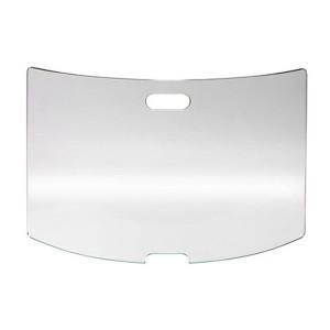 Pare-feu cheminée verre Securit 96 x 55 cm