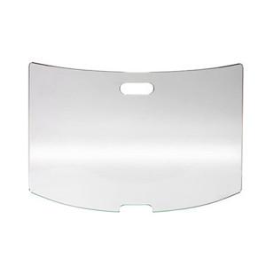 Pare-feu cheminée verre Securit 80 x 52 cm