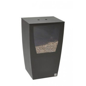 Réservoir à pellets Opus noir givré