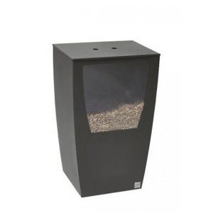 Réservoir à pellets Opus gris sable 45 kg