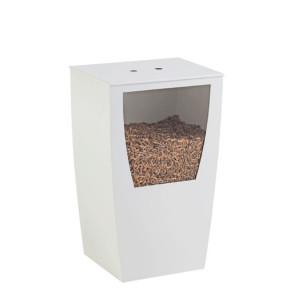 Réservoir à pellets Opus blanc 45 kg