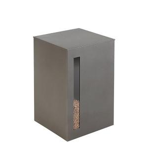 Réservoir à granulés Titan grise 55kg