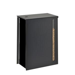 Réservoir à pellets Cargo noir 45kg