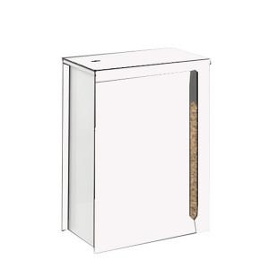 Réservoir à pellets Cargo blanc 45kg