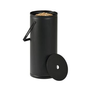 Réservoir à granulés Studio noire 10kg