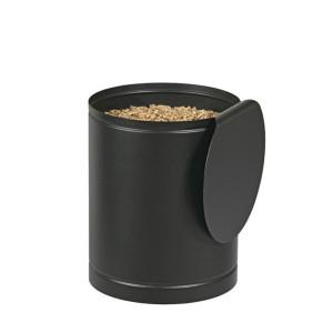 Réservoir à pellets Batiss noire 15kg