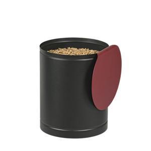 Réservoir à pellets Batiss noire & bordeaux 15kg