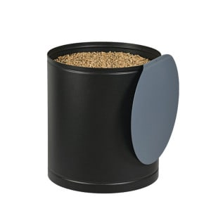 Réservoir à granulés Palass noire & bleue 45kg