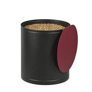 Réservoir à granulés Palass noire & bordeaux 45kg