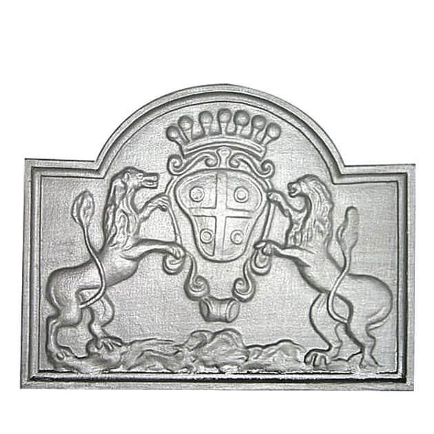 Plaque décorée Rybacki lion de juziers 2 59x48 45kg