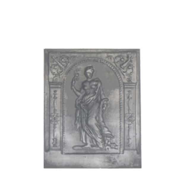 Plaque décorée Rybacki deese de l'abondance 51x63 35kg