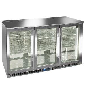 Réfrigérateur Blastcool 3 portes vitrées