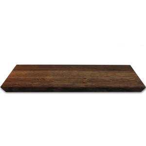 Planche plateau large Raumgestalt en bois de chêne foncé 50 x 28cm