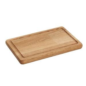 Planche à découper en chêne avec rigole Wood for Food 30 x 20