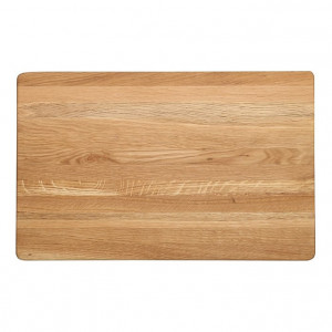 Billot épais Wood for Food en chêne 50 x 30cm