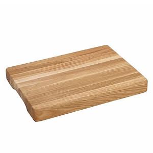 Billot épais en chêne Wood for Food 40 x 25 x 4