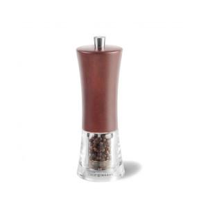 Moulin à poivre Cole & Mason Genoa hêtre teinté noyer foncé 16,5 cm