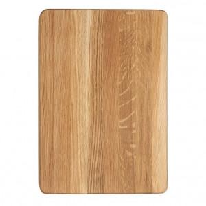 Billot épais Wood for Food en chêne 30 x 20cm
