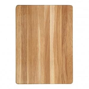 Billot épais Wood for Food en chêne 35 x 25cm