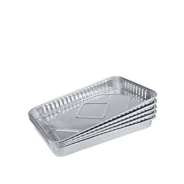 Barquettes aluminium de cuisson x5
