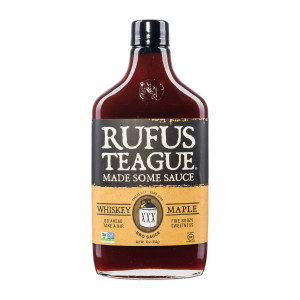 Sauce barbecue Rufus Teague Whiskey Maple 450g