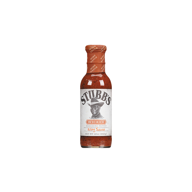 Marinade barbecue Stubb's Wicked Wing Sauce 340g
