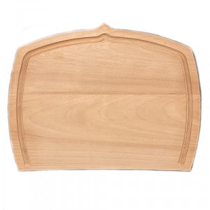 Planche à découper  BOISIGN grande avec rigole 48x37.5cm