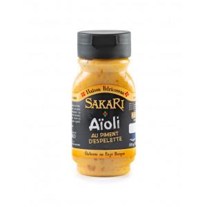 Sauce basque sakari aïoli au piment d'espelette 225 g